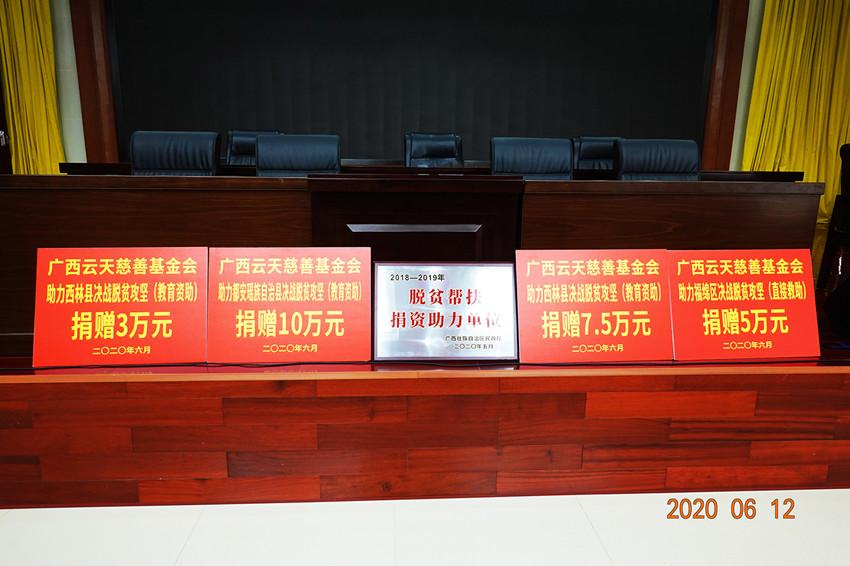 """3.云天荣获区民政厅颁发的""""脱贫帮扶捐资助力单位"""" (2)_副本.jpg"""